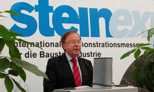 Opening Steinexpo, Germany, August 2011.